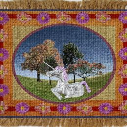 Unicorn Tapestry Picture