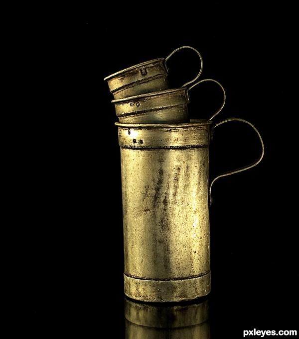 Old milkpots