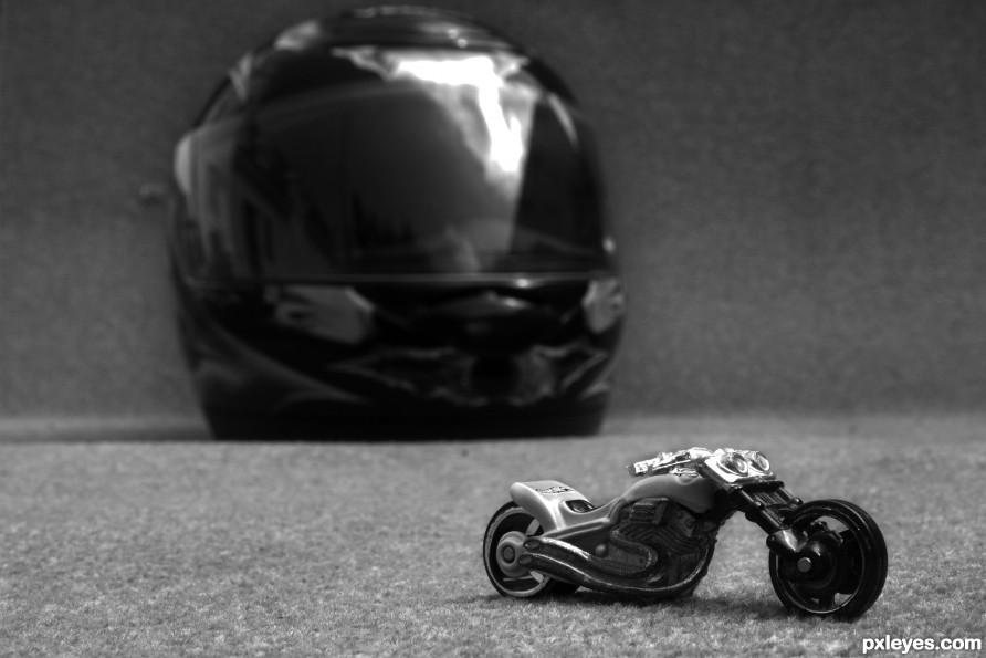 I need a smaller helmet!!
