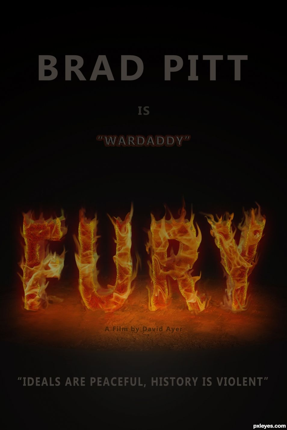 "For the motion picture "" Fury ""  ( 2014 )"
