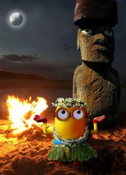 Minion Moon Dance By The Molokai