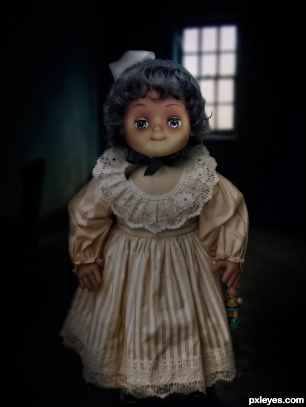 Sherlyns doll..