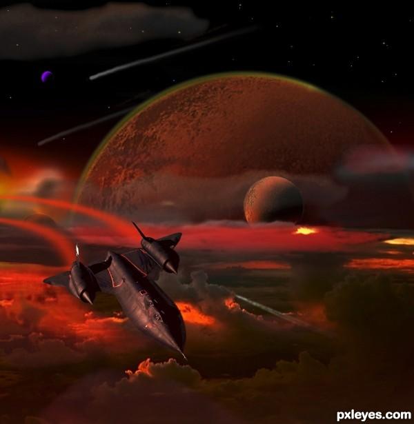 Vulcan Blackbird