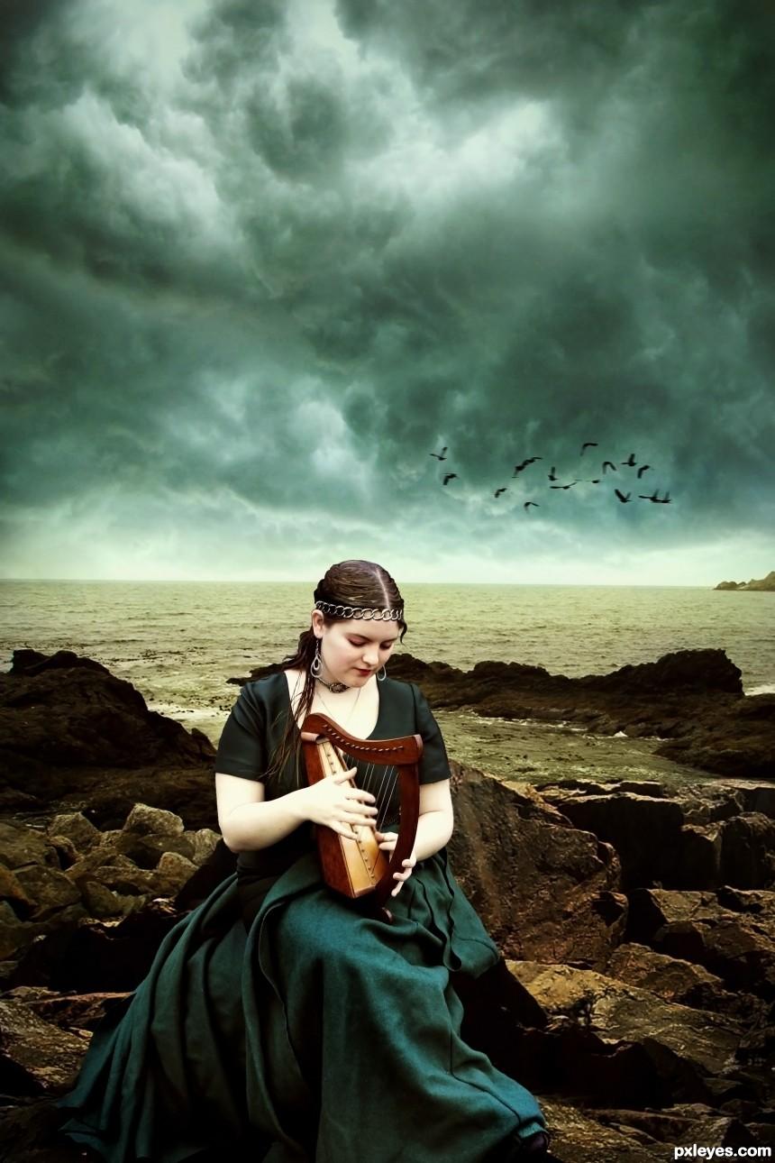 Seas Rhythm photoshop picture)