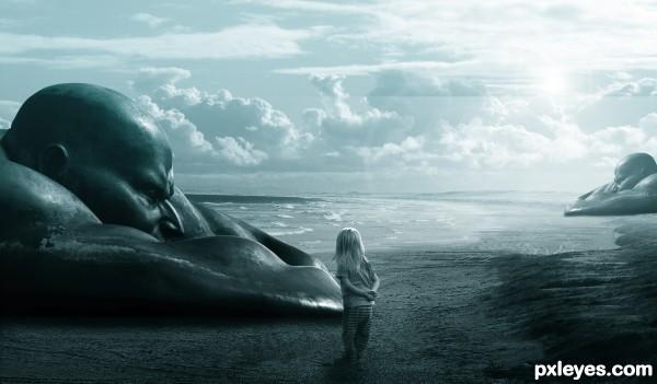 Unseen beach