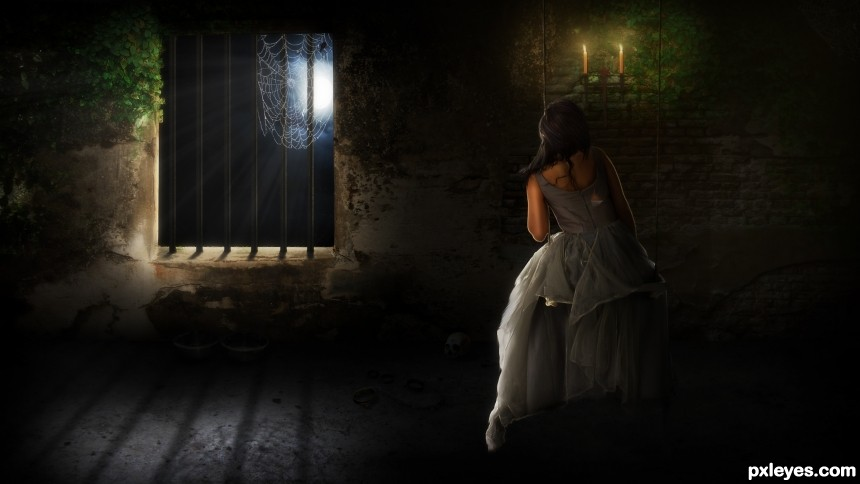 Imprisoned photoshop picture)