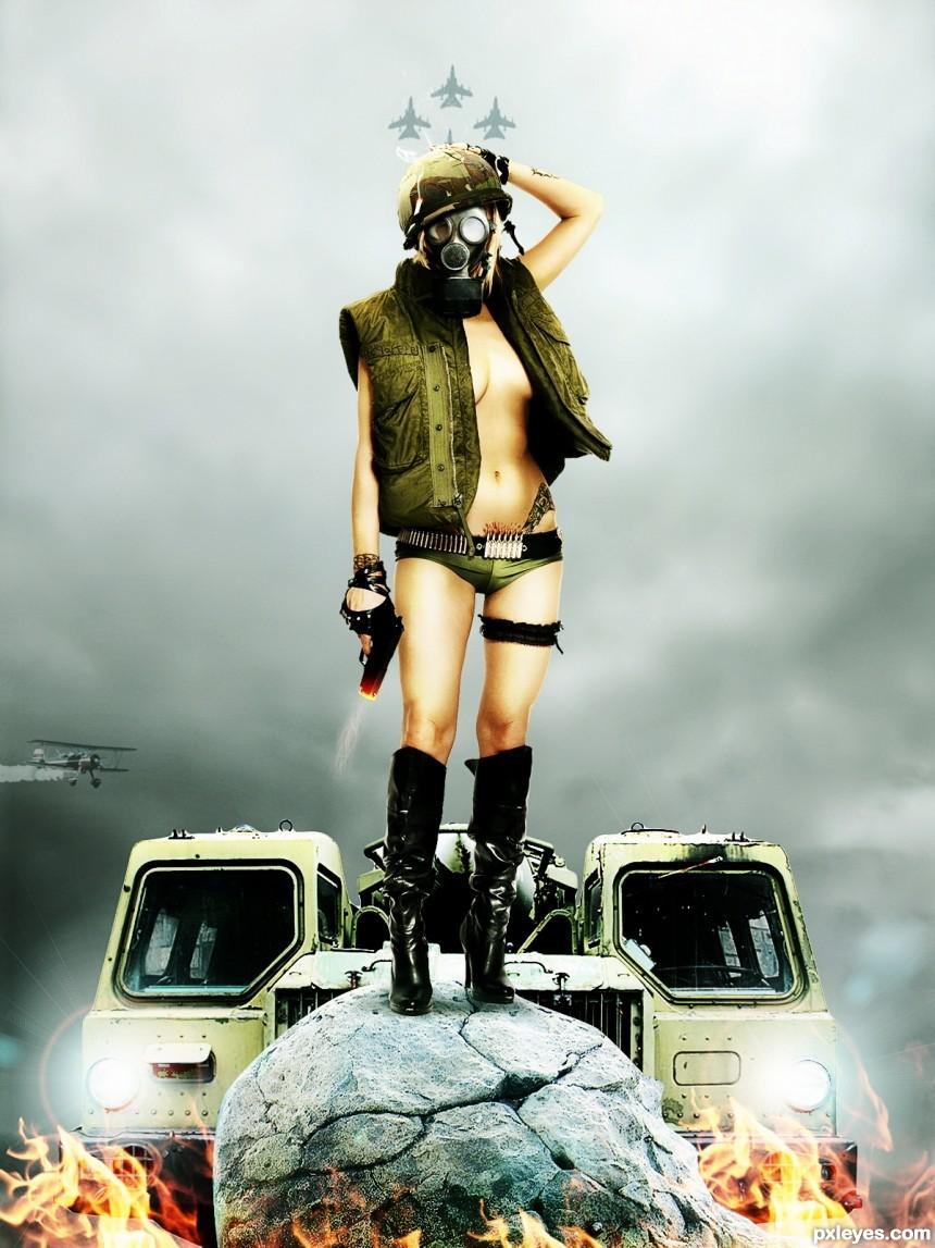 Last survivor photoshop picture)