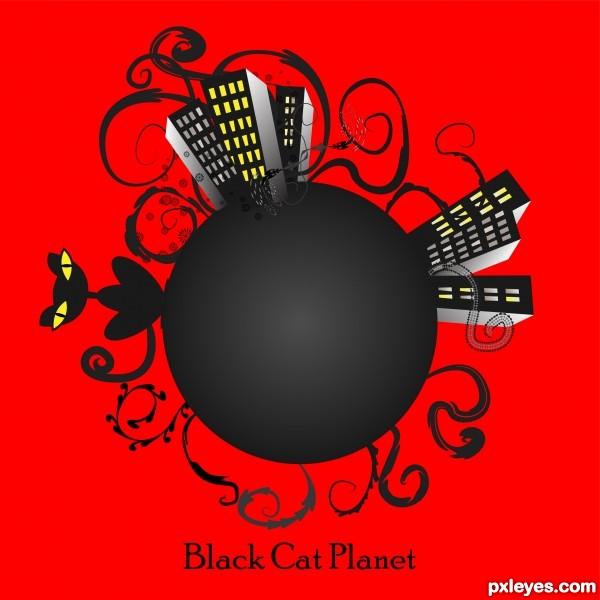 Creation of Black Cat Planet: Final Result