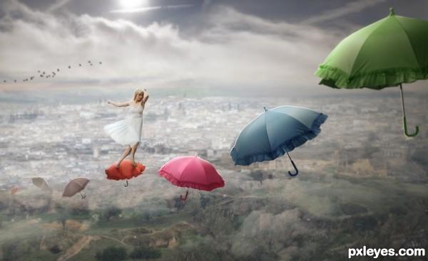 Up The Umbrella Path