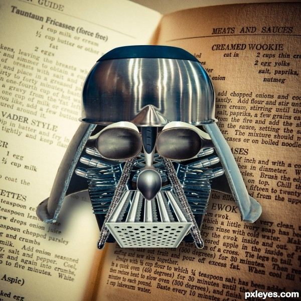 Dark Lord of the Kitchen - Darth Grater