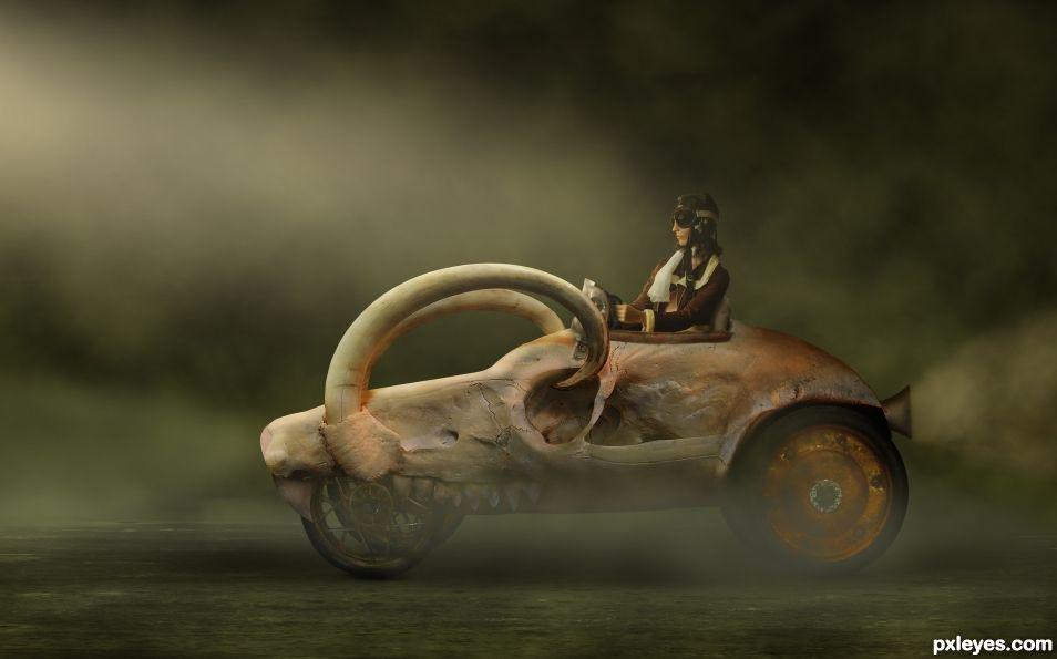 Skullmobile