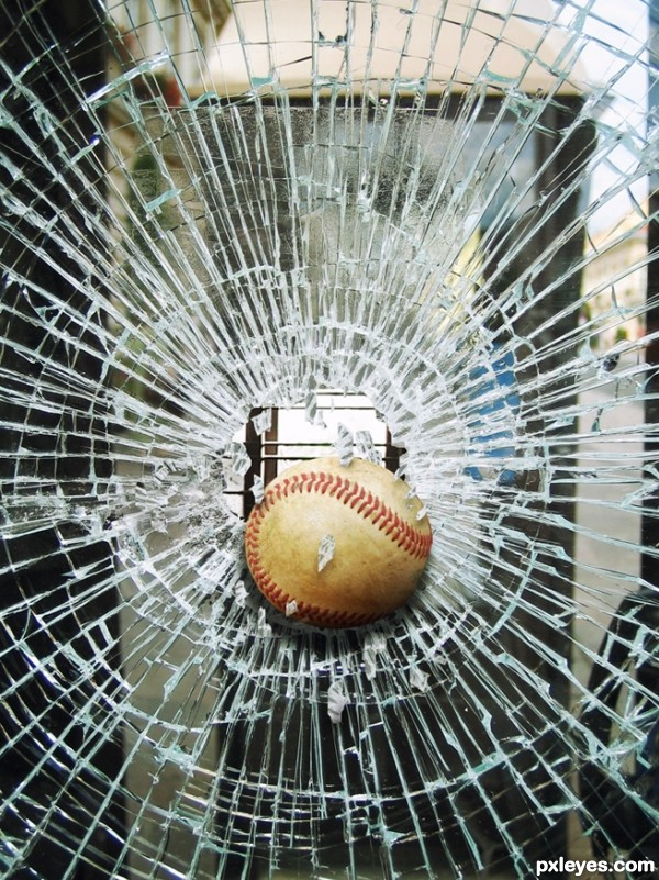 The baseball accident...