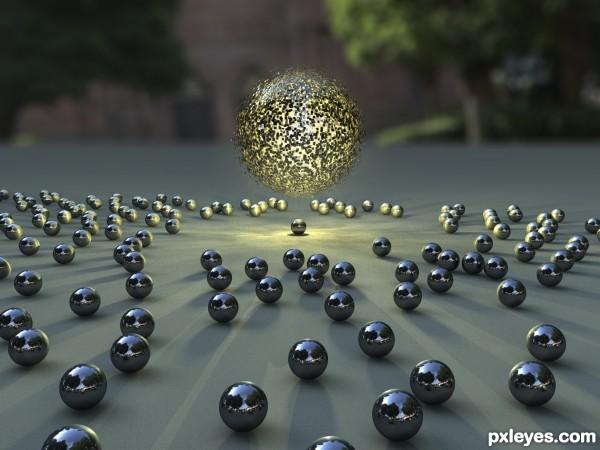 Attractive Spheres