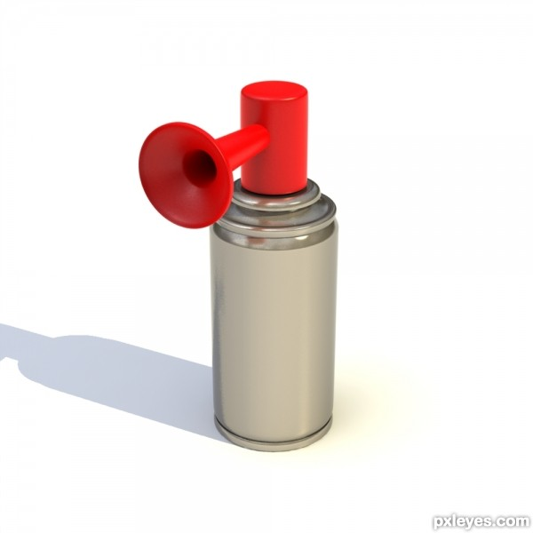 Compressed air horn