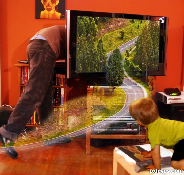 Daddys magic TV