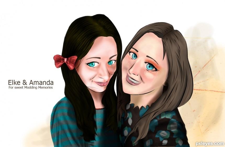Lelaina & MnMCarta photoshop picture)