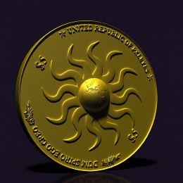 United Republic Of Pxleyes Coinage  Picture