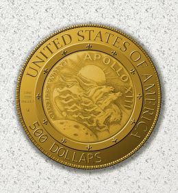 Apollo 13 Fifty Year Commemorative Coin