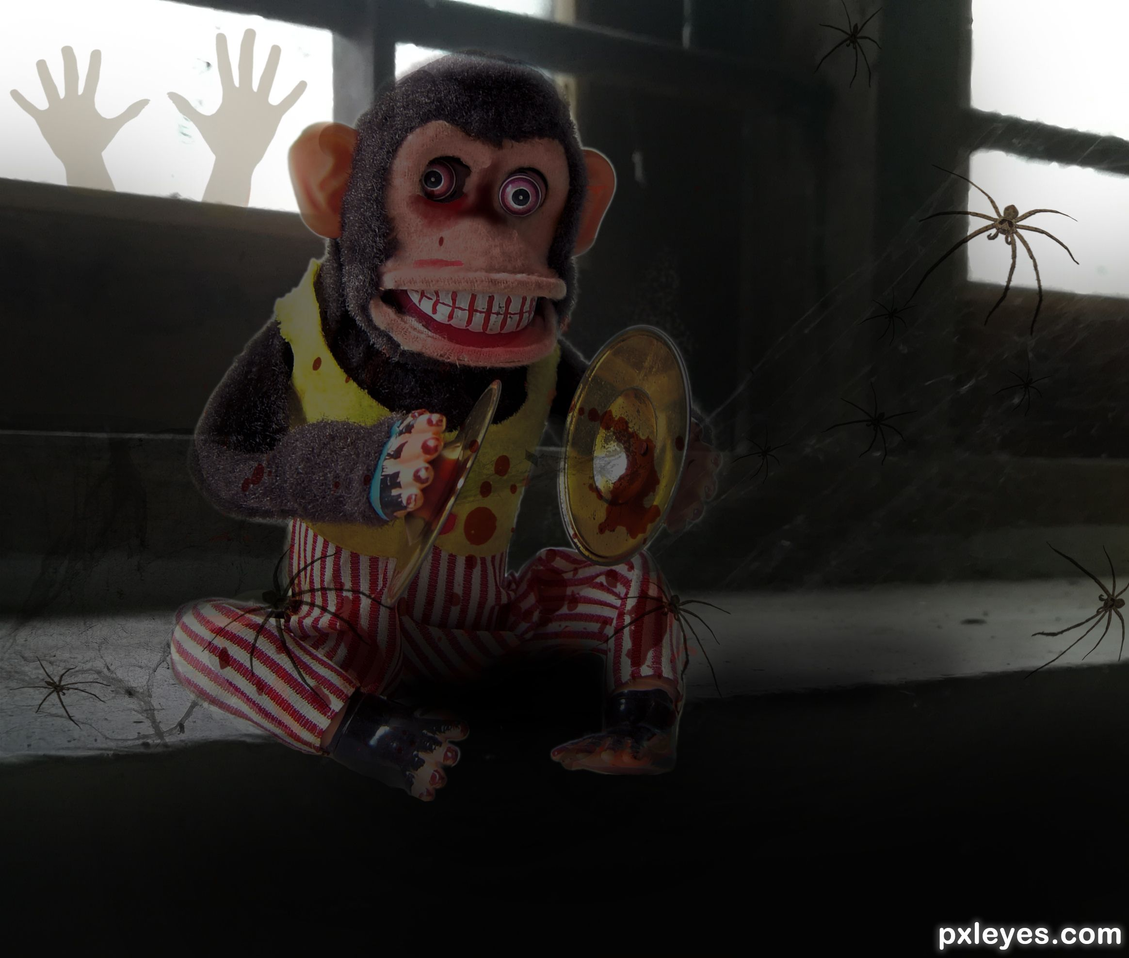 Scary Monkey Picture By SinginDarkSwan For Toy Photoshop