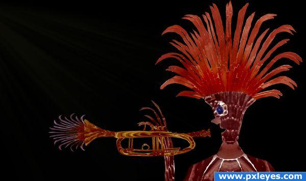 Funky Trumpet Man