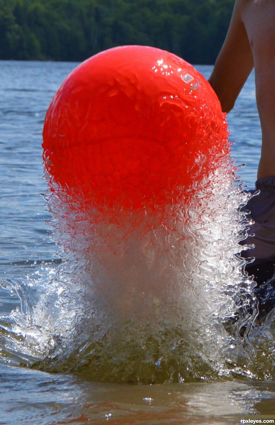 ball splash
