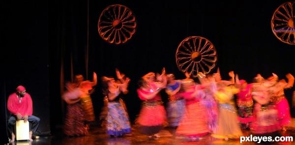 Dancing like gypsies