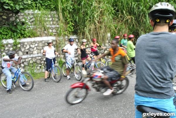 Jamaican Biker