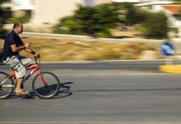 Cycling & texting....