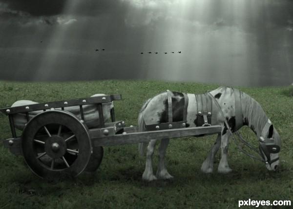 One smart cart!