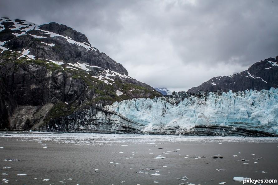 Glaciel Mountains Majesty
