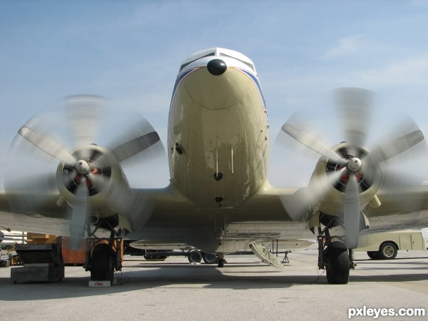 dc-3 start your engines