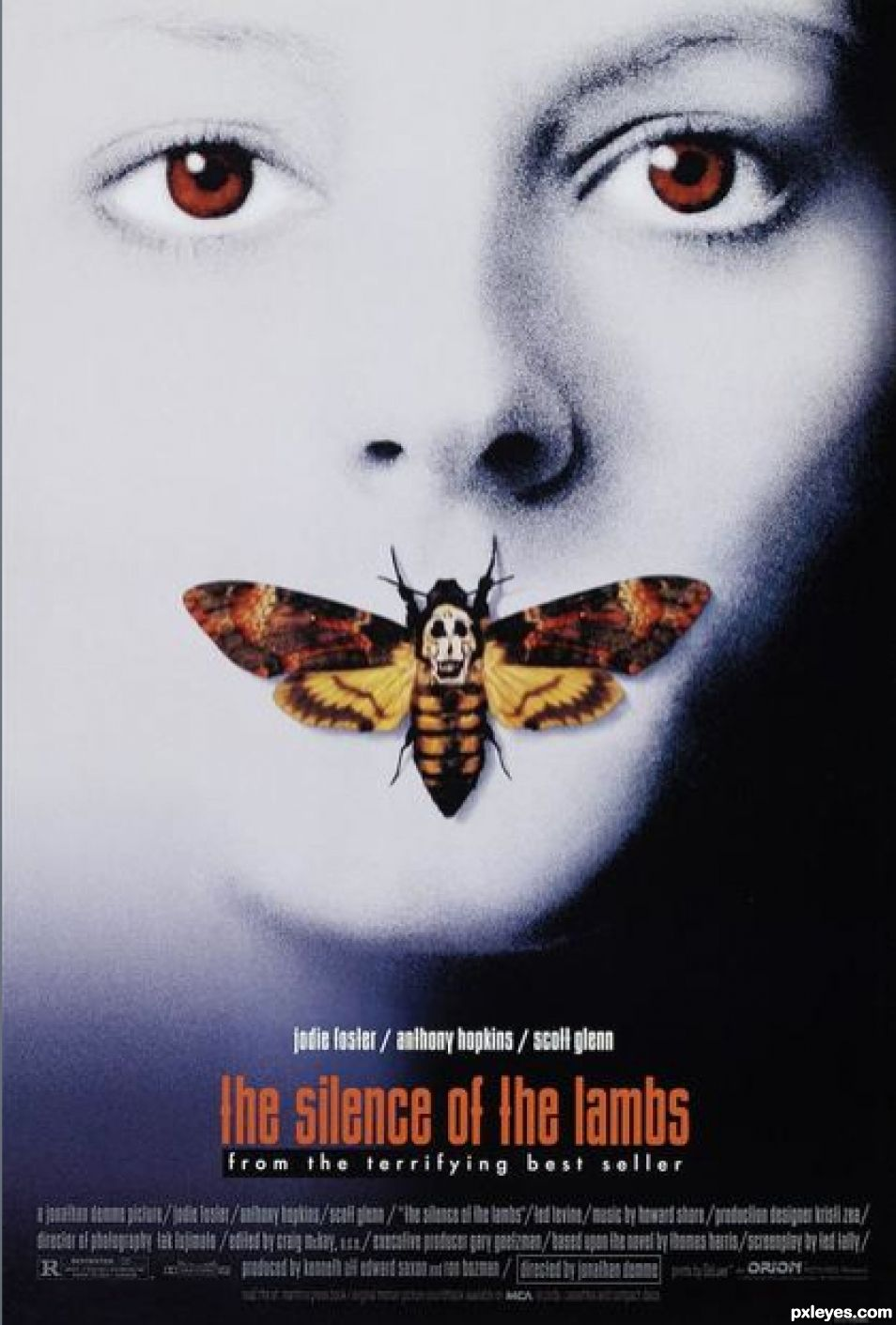 Photoshop guide the making of the silence of the lambs pxleyes creation of the silence of the lambs step 1 baditri Gallery