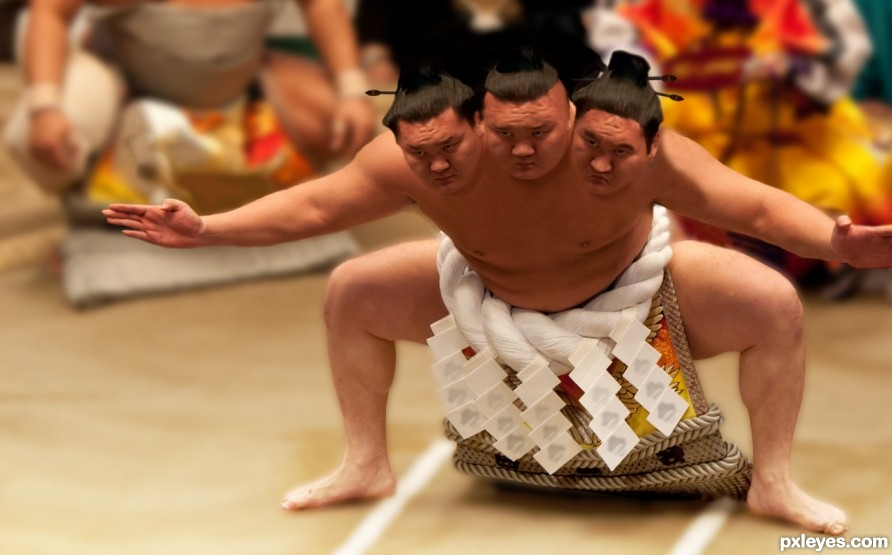Three Times the Sumo