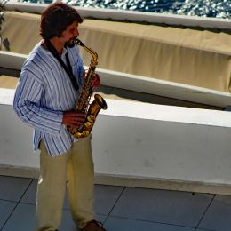 SaxophonePlayer