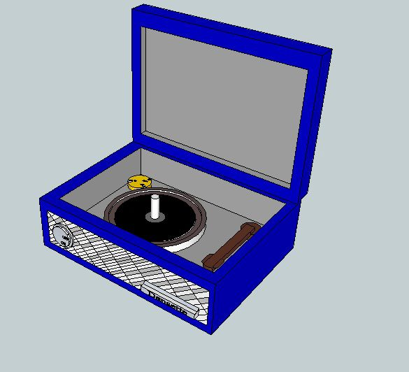 my first record player