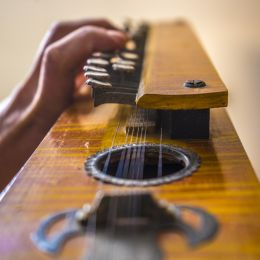 Old string instrument from arabia