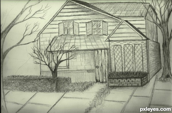 My dream home picture by alwani for my home drawing for My dream house drawing