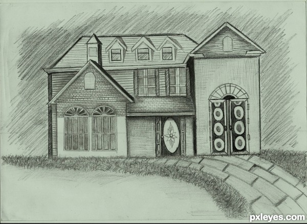 My home drawing contest 15081 pictures page 1 for My dream house drawing