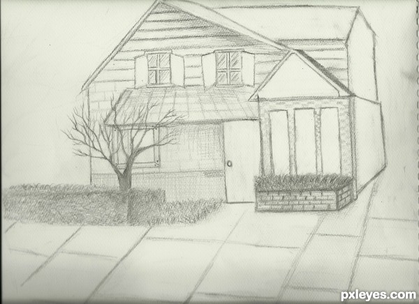 Drawing guide the making of my dream home for My dream house drawing