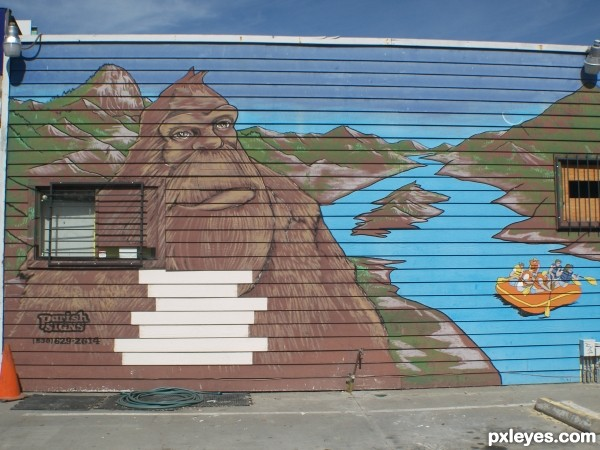 Bigfoot Mural
