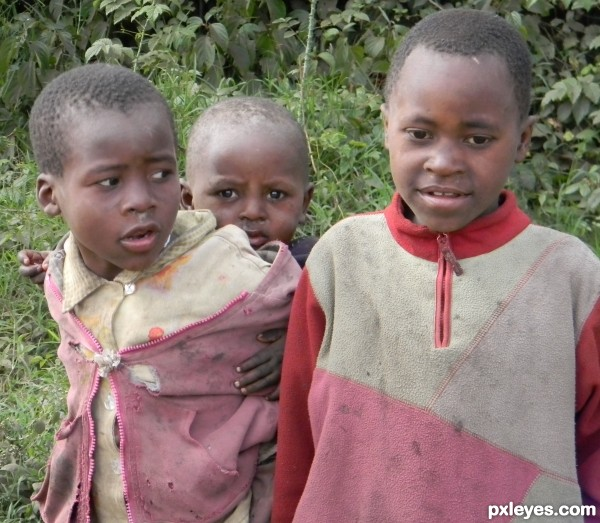 Impoverished Youth in Africa