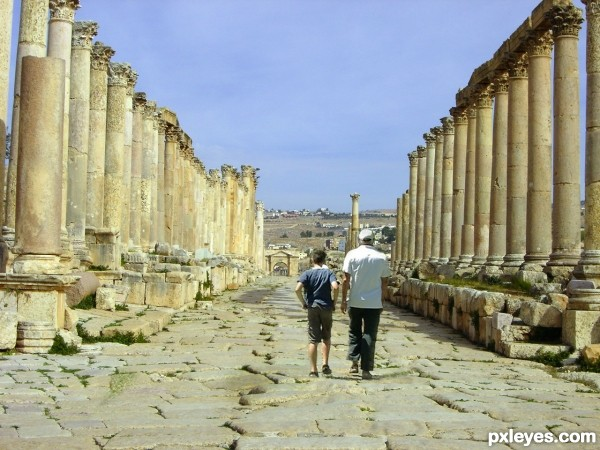 ruins walk