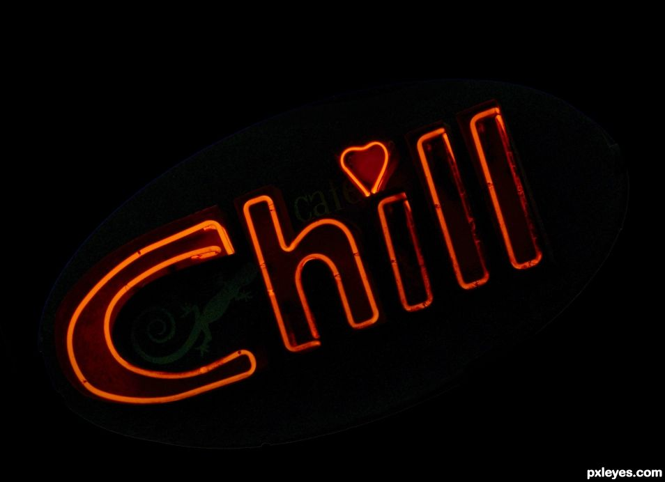 Chill baby chill !