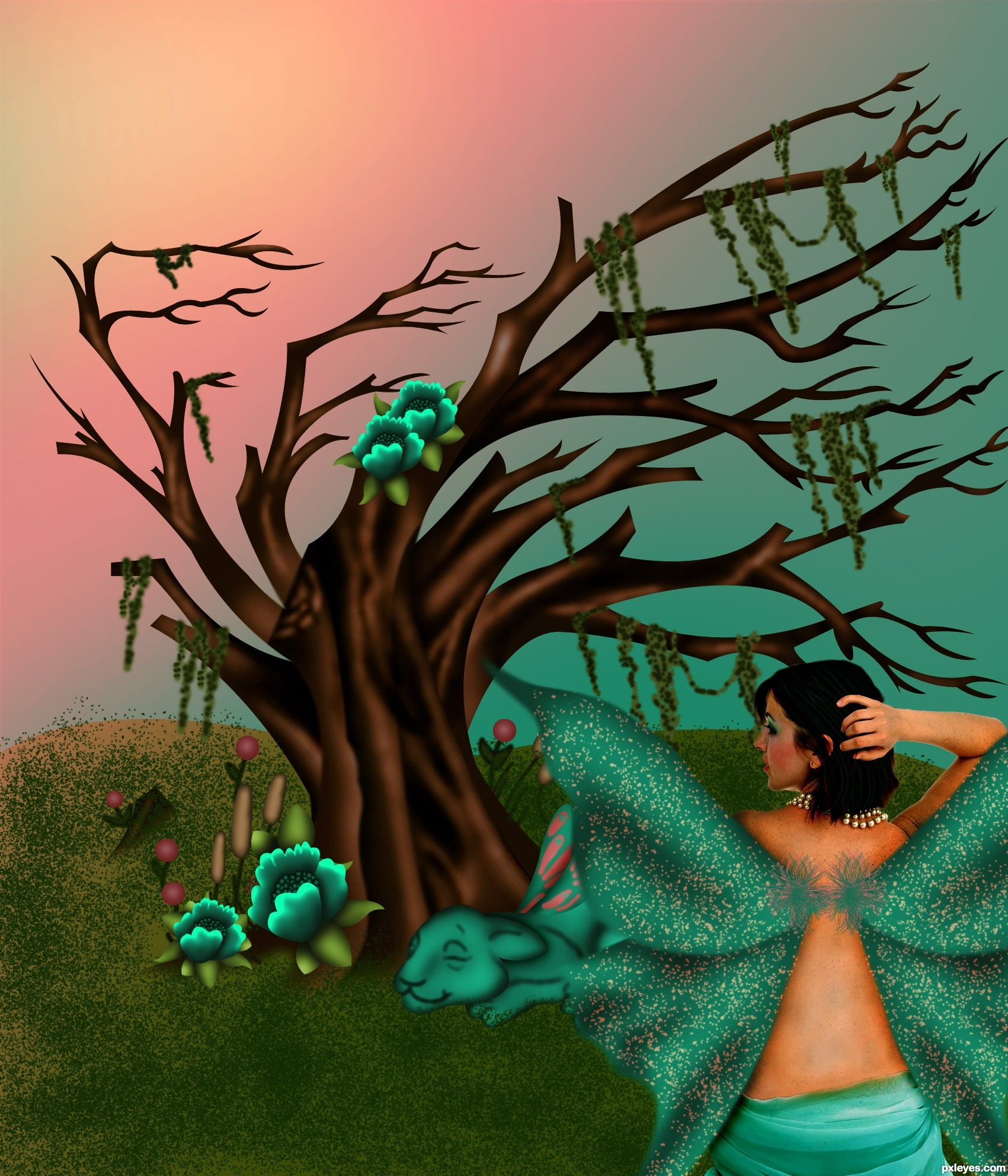 Colorful world picture, by chakra1985 for: new tattoo photoshop ...