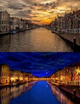 Holland waterway