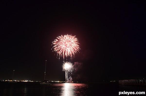 eves fireworks