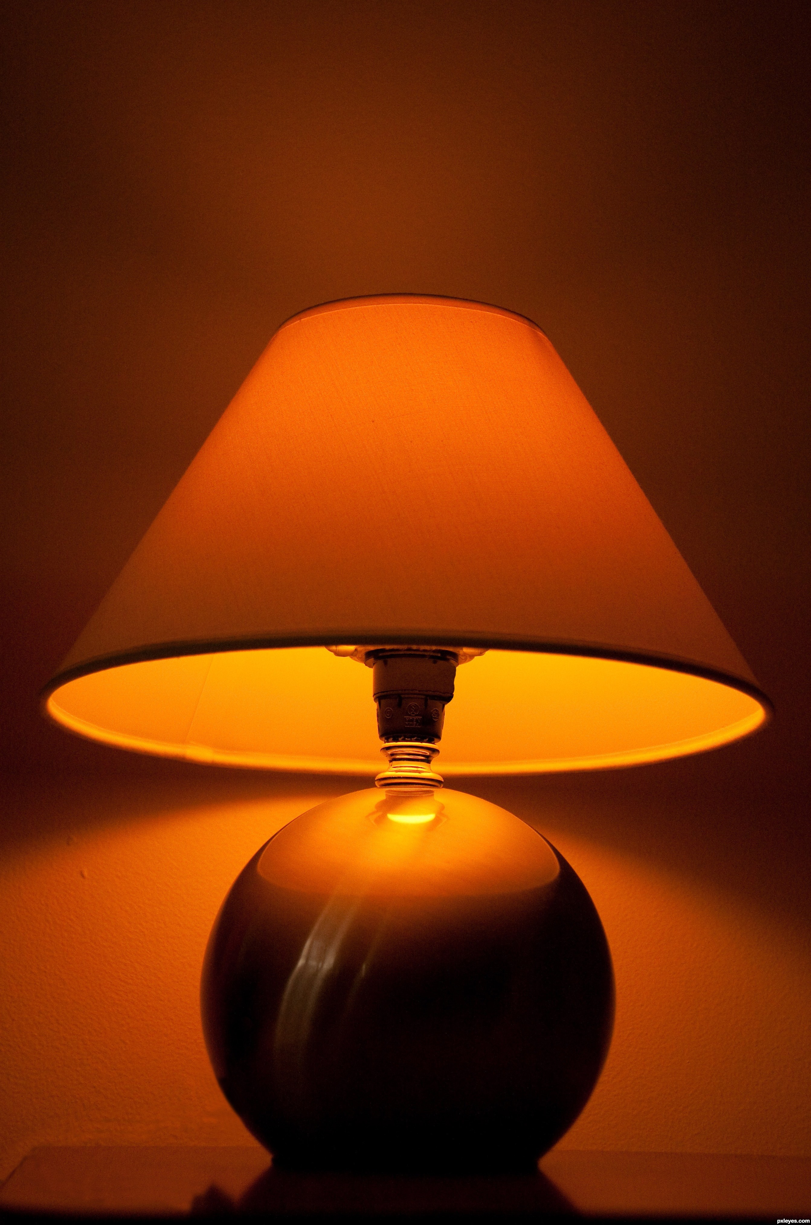 night lamp picture by bartoszwozniak for night lights photography. Black Bedroom Furniture Sets. Home Design Ideas