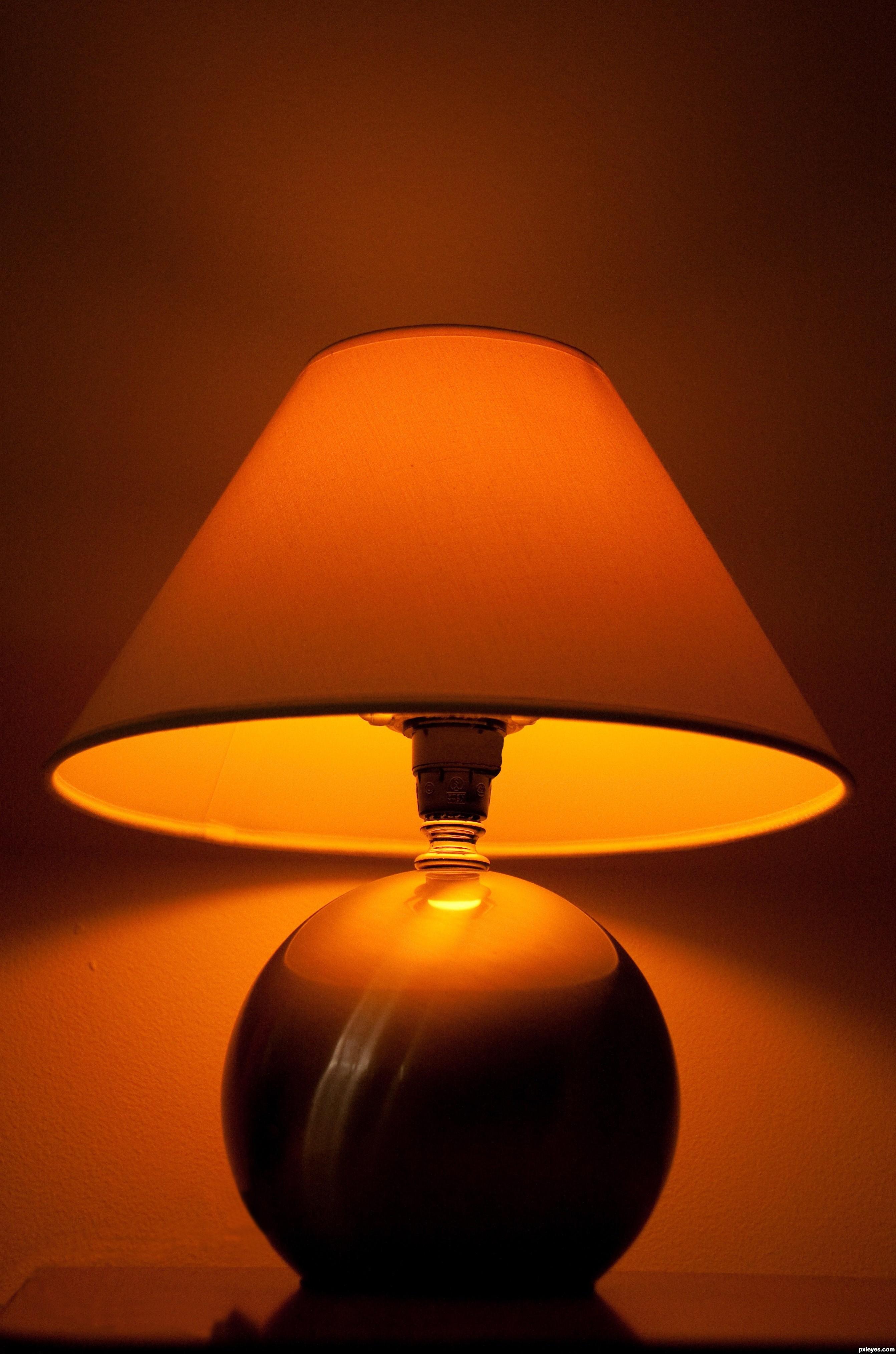 Night Lamp picture, by bartoszwozniak for: night lights photography ... for Night Lamp Photography  268zmd