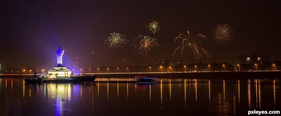Hyderabad(India) during Diwali