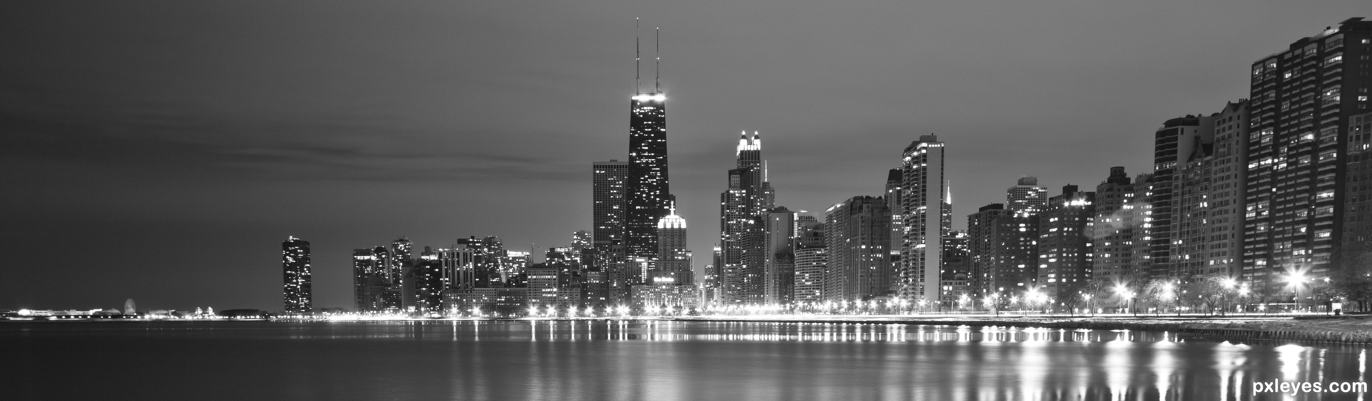 Chicago by Night picture, by ctbugan for: night shots 3